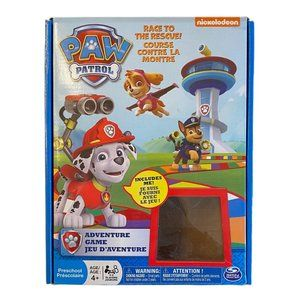Paw Patrol Adventure Race to the Rescue Game